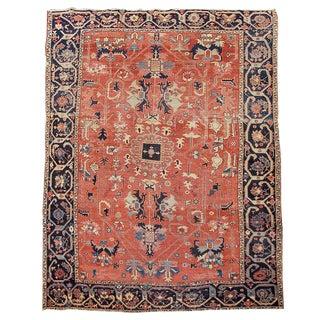 Serapi Persian Carpet - 8′10″ × 12′2″ For Sale