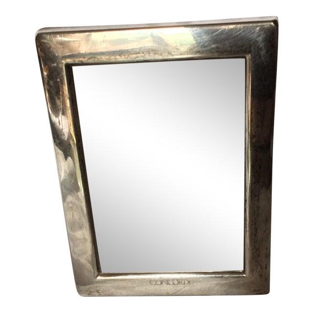 Vintage Sterling Silver Photo Frame For Sale