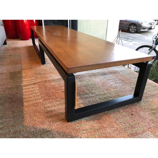 Michael Taylor for Baker Wooden Coffee Table - Image 6 of 6