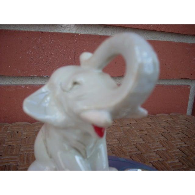 Ceramic Elephant Ashtray For Sale - Image 4 of 4