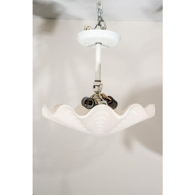 """Modern Sirmos """"Sand Dollar"""" Shell Form Chandelier For Sale - Image 3 of 11"""