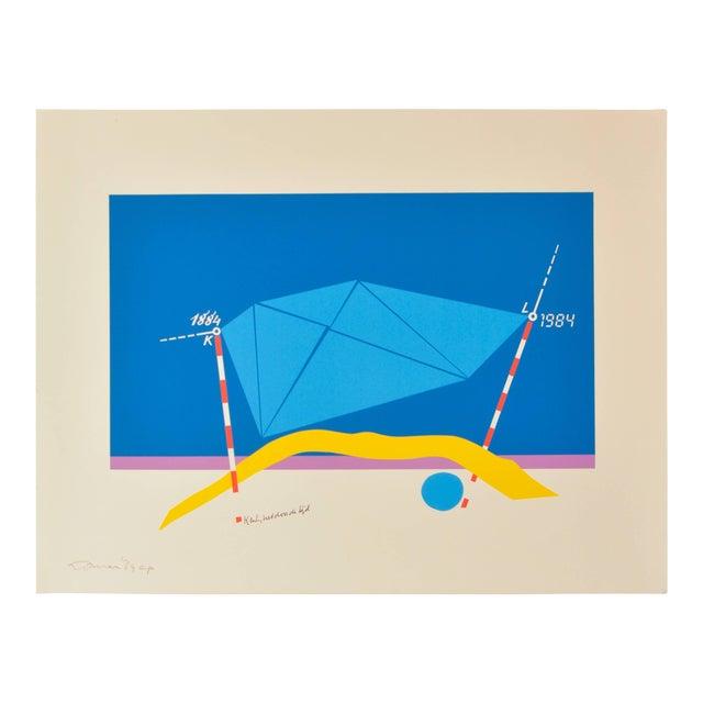 Jan Loman, Signed Ap Lithograph For Sale
