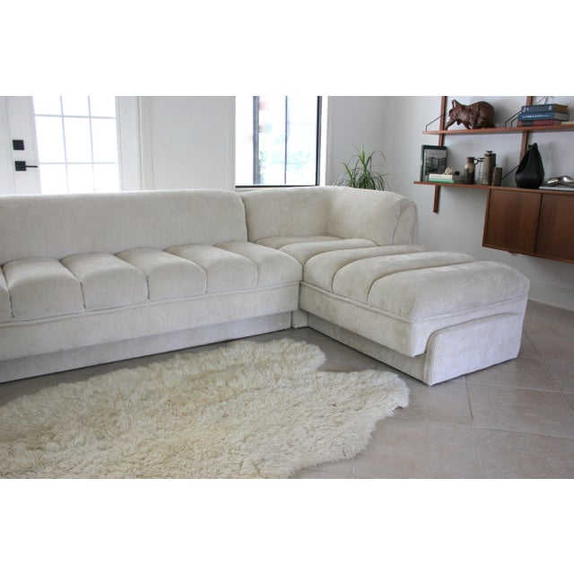 Vladimir Kagan Attributed Directional Sectional Sofa For Sale - Image 12 of 13