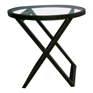 Compatable Black Ralph Lauren Mercer Street Lacquered Table