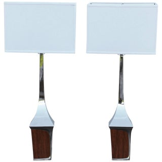 Mid-Century Modern Table Lamps by Laurel For Sale