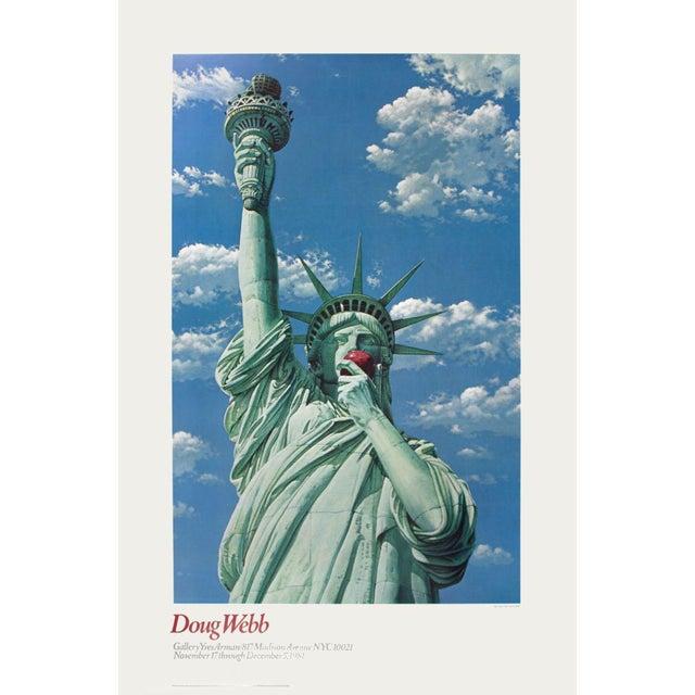 Doug Webb-Miss Liberty-1981 Poster For Sale