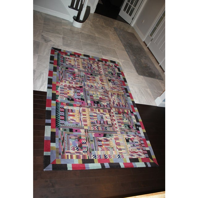 Late 20th Century Missoni Area Rug - 5′1″ × 7′10″ For Sale - Image 5 of 7