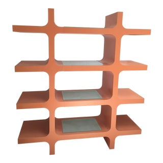 Mid-Century Shelving Display Unit For Sale