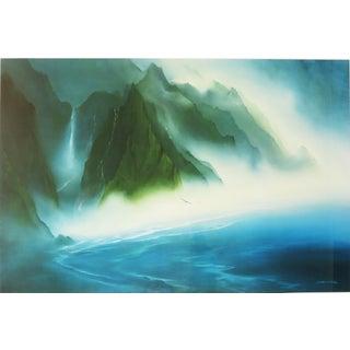 "George Sumner Large ""Hanalei Bay, Kauai, Hawaii"" Limited Edition Print For Sale"