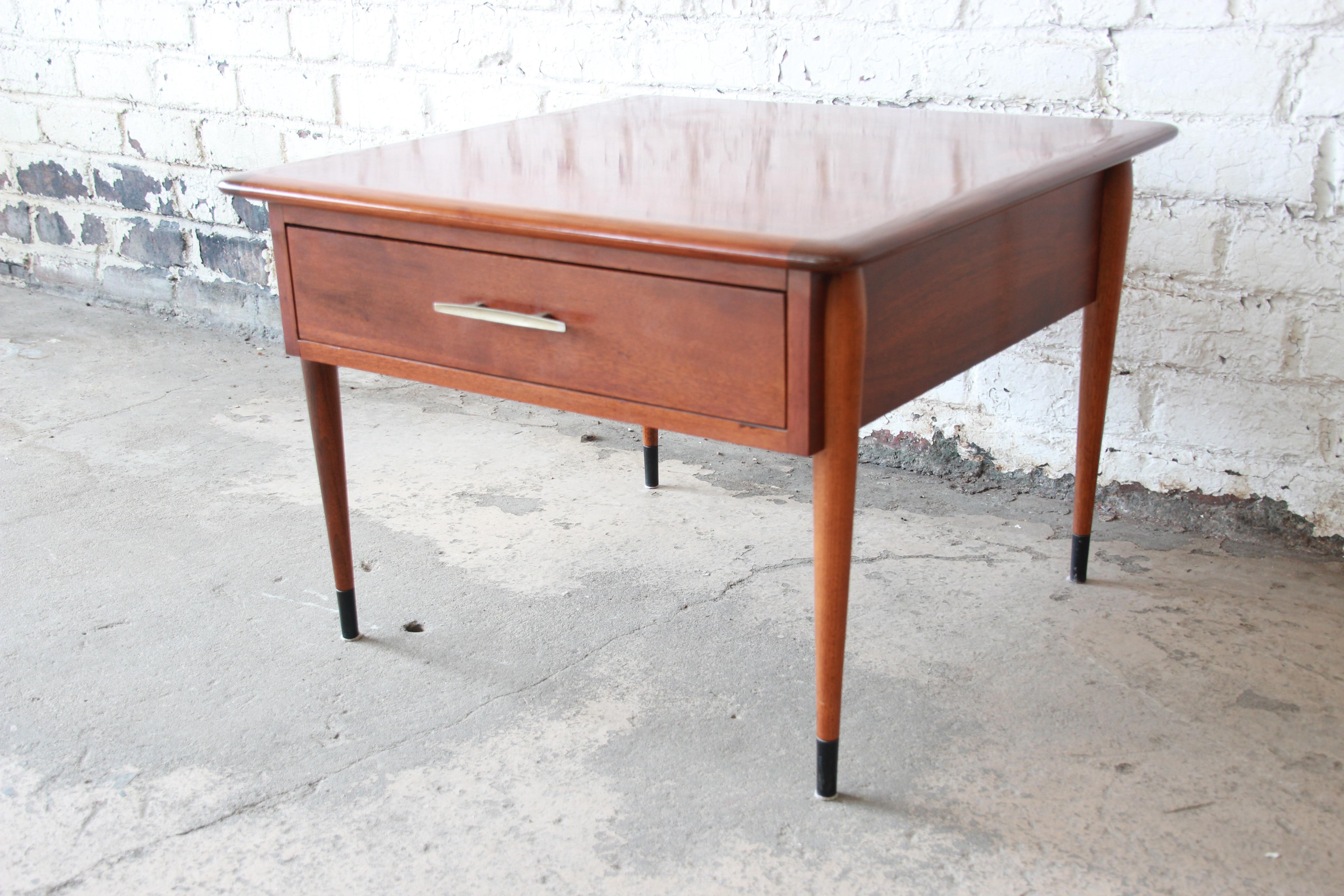 Lane Acclaim Mid Century Modern Side Table   Image 3 Of 11