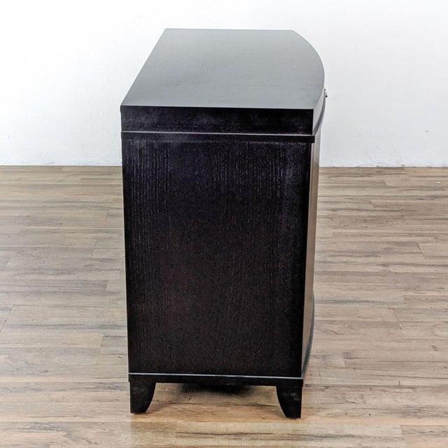 Crate & Barrel Crate & Barrel Espresso Bar Cabinet For Sale - Image 4 of 9
