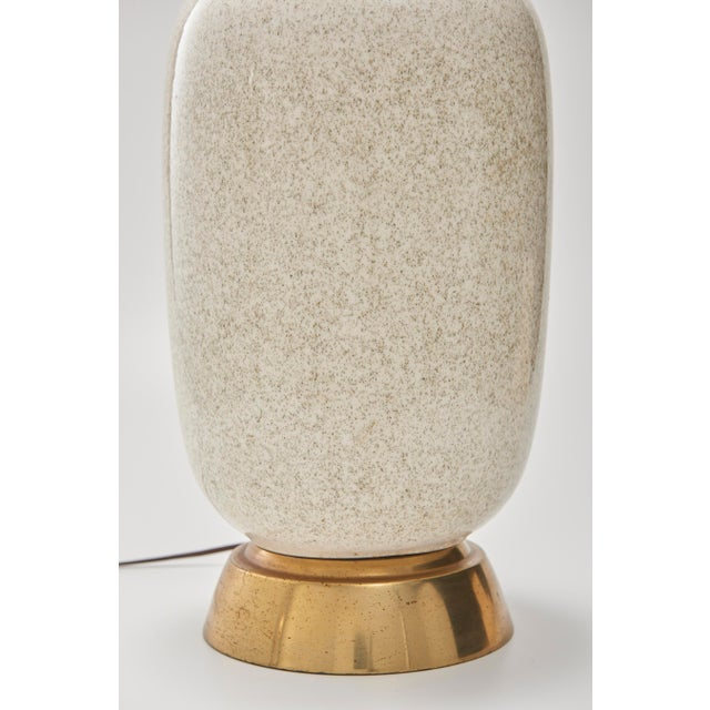 Mid-Century Oversize Ceramic Table Lamp - Image 3 of 5