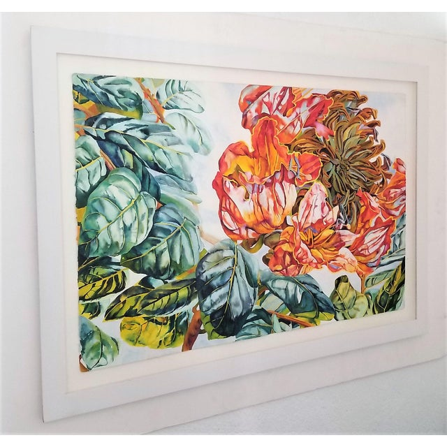 2000 - 2009 Art Museum Quality Watercolor Painting by Patricia Tobacco Forrester For Sale - Image 5 of 13