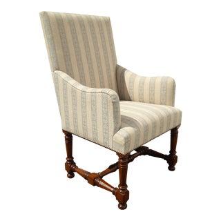 Designer Corsini Accent Arm Chair by Quadrus Studio For Sale