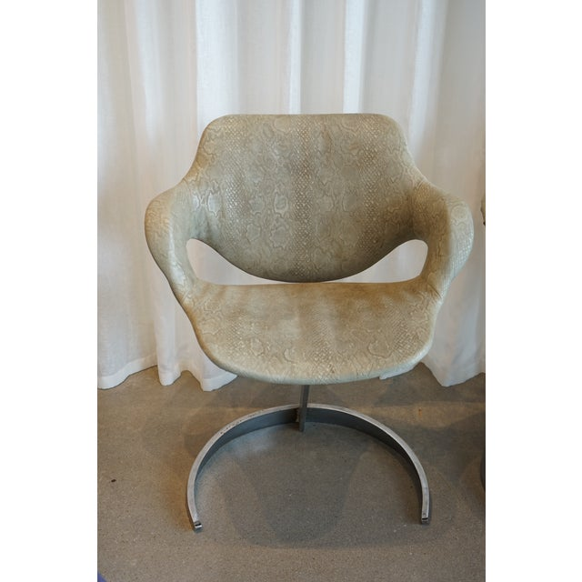Mid-Century Modern Pair of Vintage Chairs by Boris Tabocoff Chairs For Sale - Image 3 of 12