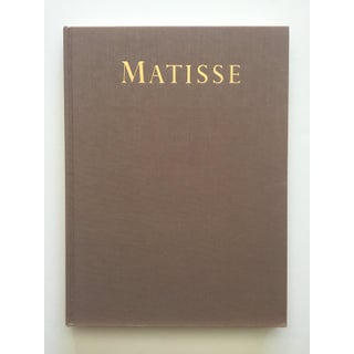 Henri Matisse Rare Vintage 1983 First Edition Collector's Hardcover Modern Art Book Preview