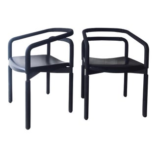 Rubber Armchairs by Brian Kane for Metropolitan - a Pair For Sale