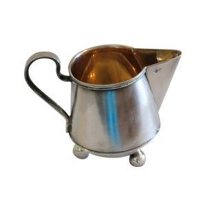 Late 19th Century Vintage Russian Silver Creamer For Sale