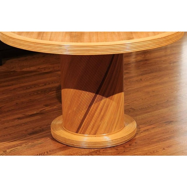 Elegant Circular Center or Dining Table by Bielecky Brothers For Sale In Atlanta - Image 6 of 10