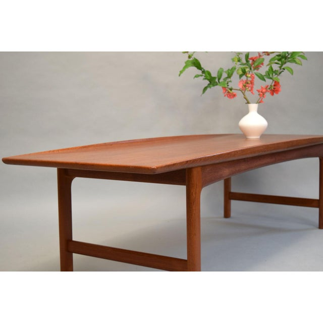 Dux Folke Ohlsson Sculptural Teak Coffee Table - Image 6 of 11