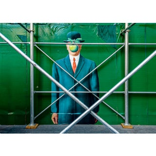 """""""Magritte - New York City"""" Contemporary Street Art Photograph For Sale"""