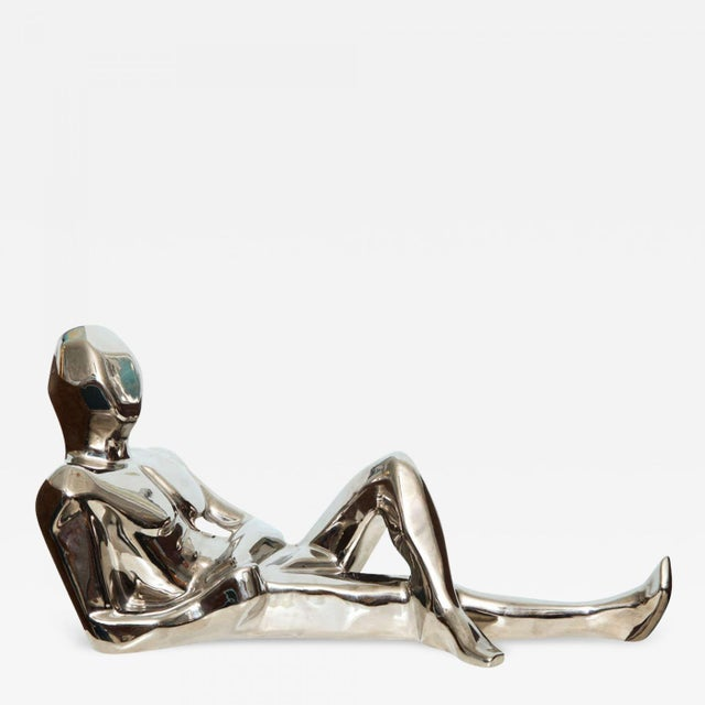 Silver 1970s Jaru Space Age Silver Sculpture For Sale - Image 8 of 8