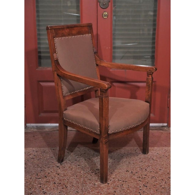 19th Century Directoire Style Armchairs - Pair - Image 3 of 6