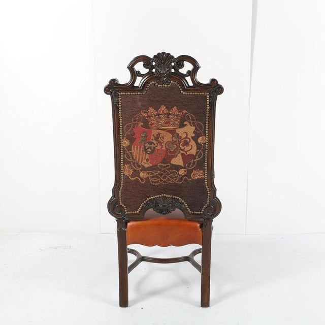 French Late 20th Century Vintage Louis XIV Style Armchair For Sale - Image 3 of 11