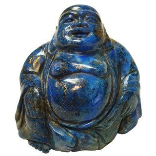 Lapis Lazuli Carved Buddha For Sale