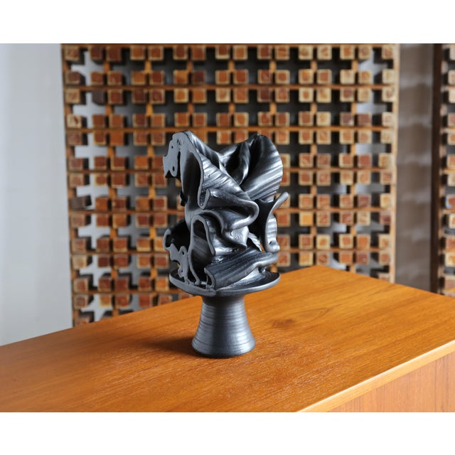 Tim Keenan Abstract Ceramic Sculpture For Sale - Image 12 of 12