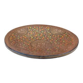 Indo-Persian Kashmiri Paper Mache Bowl For Sale