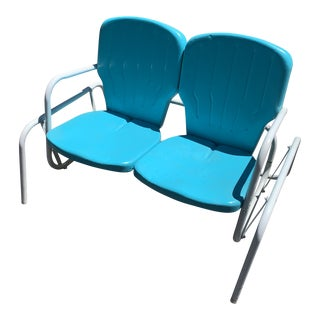 Mid-Century Outdoor Glider For Sale