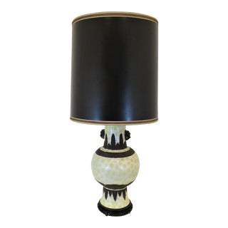 Paul Hanson Mid-Century Modern Table Lamp For Sale