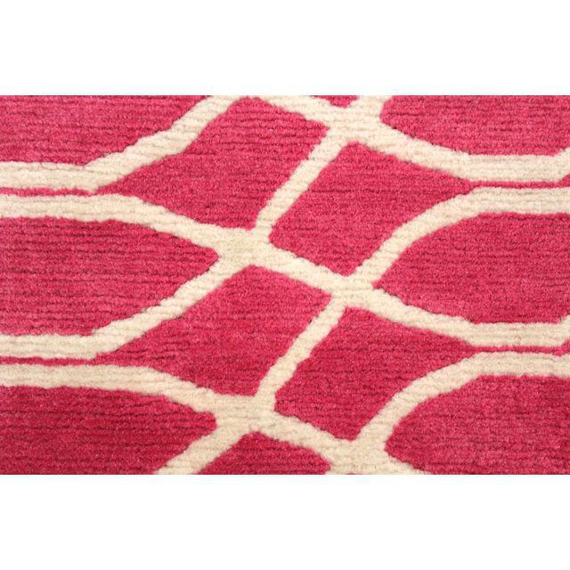 Cococozy Hand-Knotted Wool Rug - 5′ × 8′ - Image 3 of 6
