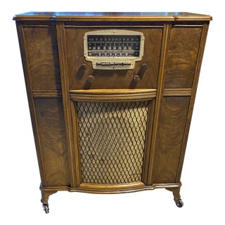 Antique Stromberg-Carlson Speaker Cabinet For Sale