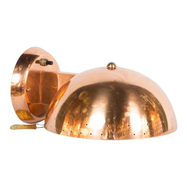 Copper Plated Framburg Sconce For Sale