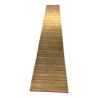 Beauvais Handmade Hall Runner - 2′4″ × 15′