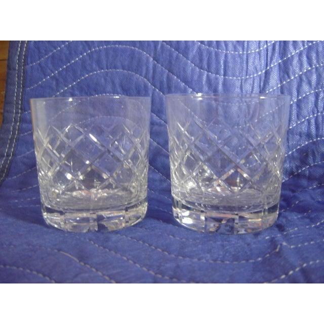 Cartier Cartier Cut-Crystal Rocks Tumblers - Set of 8 For Sale - Image 4 of 4