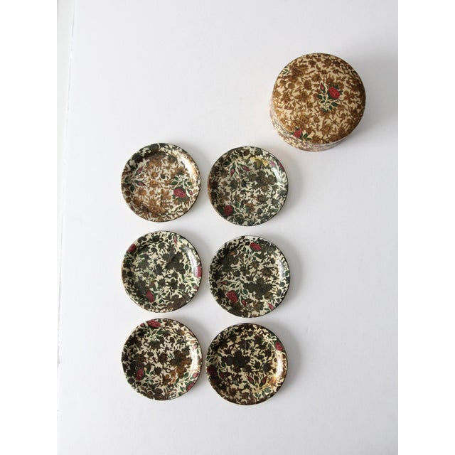 Vintage Highmount Quality Coasters Box Set For Sale - Image 14 of 14