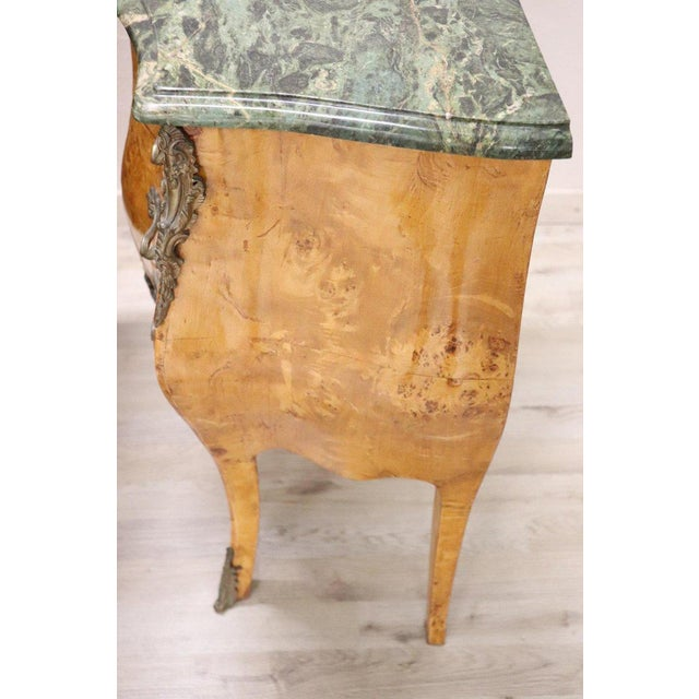 20th Century Italian Venetian Louis XV Style in Wood Burl - a Pair For Sale - Image 11 of 13