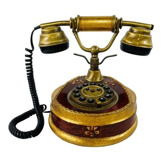 Vintage Retro Rotary Victorian Style Horchow Sitel Telephone For Sale
