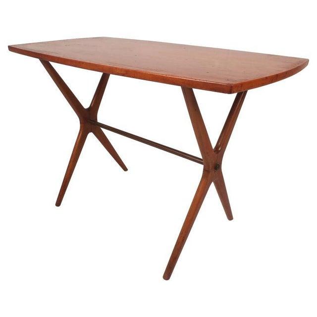 Mid-Century Modern Teak End Table - Image 3 of 11