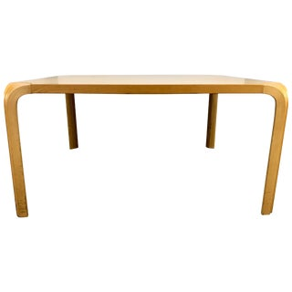 1970s Vintage Alvar Aalto for Artek Fan Leg Coffee Table For Sale