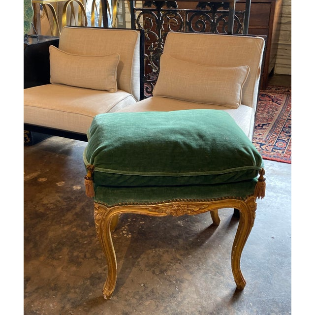 19th Century Louis XVI Tabouret - Ottoman For Sale - Image 9 of 10