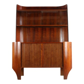 Tambour Credenza/Buffet by Henry Glass For Sale