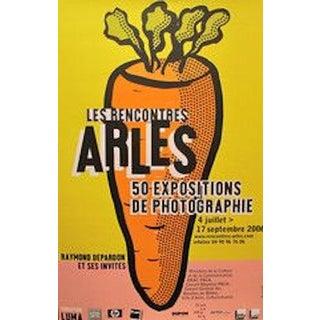 Michel Bouvet Festival Poster - Carrot For Sale