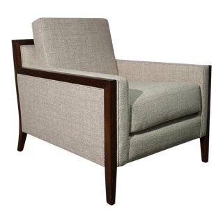 Modern Mid Century Style Lounge Chair For Sale