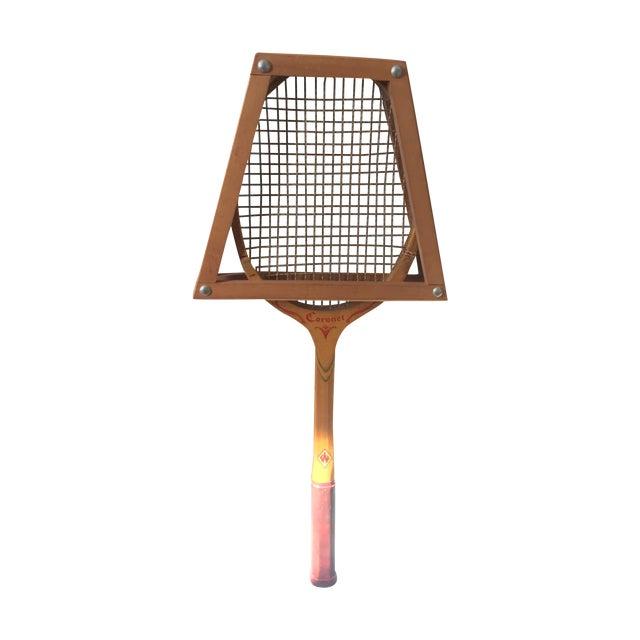 Vintage Coronet Wood Tennis Racket - Image 1 of 9