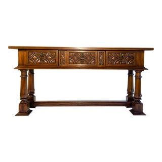 Ebanista Alfonso Marina Spanish Refectory Table For Sale