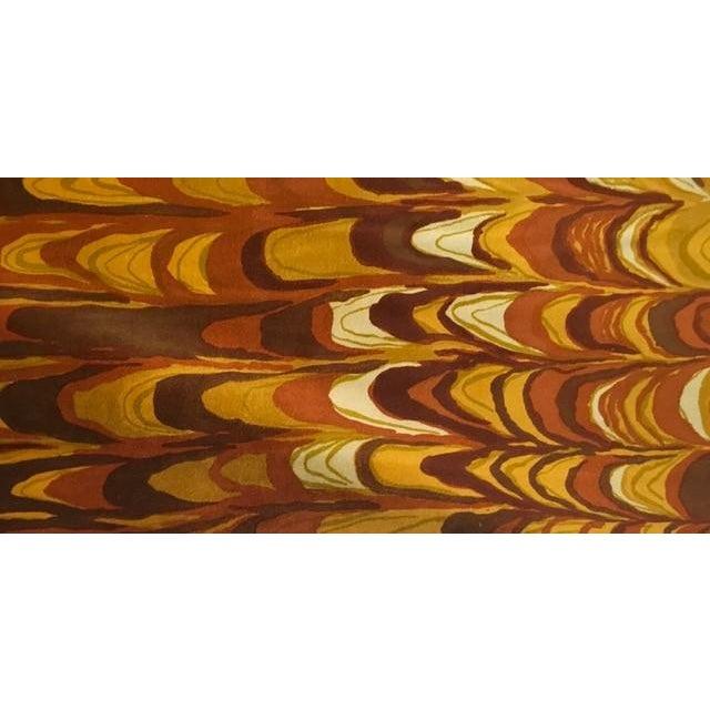 Yellow 196 Aurora Velvet Fabric by Jack Lenor Larsen - 30 Yards For Sale - Image 8 of 8